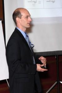 Ken Reed teaching a course