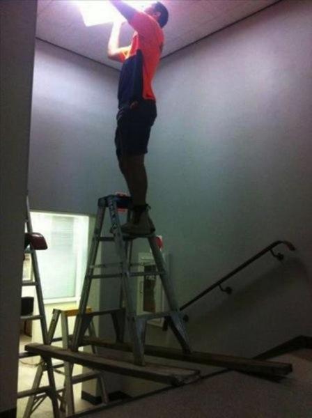 Ladderonstairs