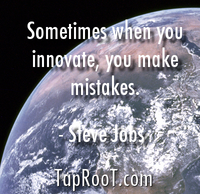 Innovation mistakes