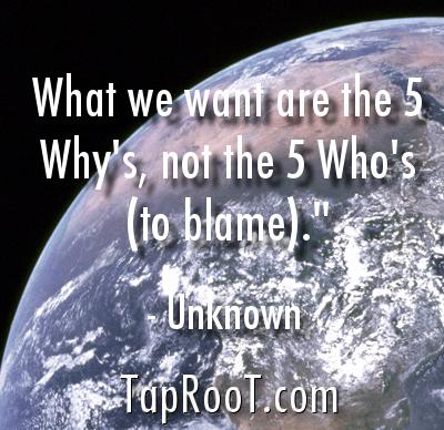 five whos