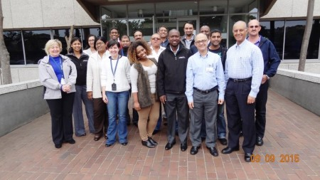 17-class picture with refinery GM (in glasses next to Sanjay)