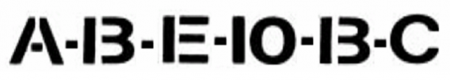 Valve Label Font