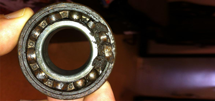 Contaminated Bearing