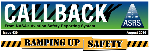 CALLBACK Report Ramp Safety