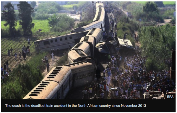 Train Crash Alexandria