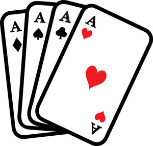 Ace clipart four aces playing cards 0071 1002 1001 1624 SMU