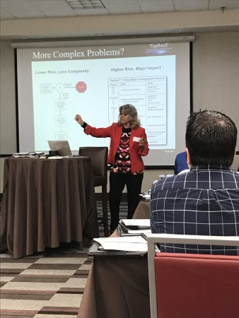 Heidi Reed and I are looking forward to seeing our course attendees' final  presentations. It's been an awesome week! Click here and get in the picture.
