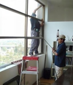 Misuse of safety harness