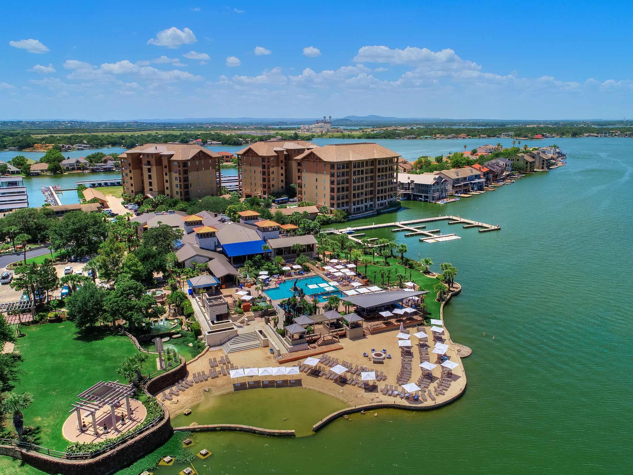 Arial View of Horseshoe Bay Resort
