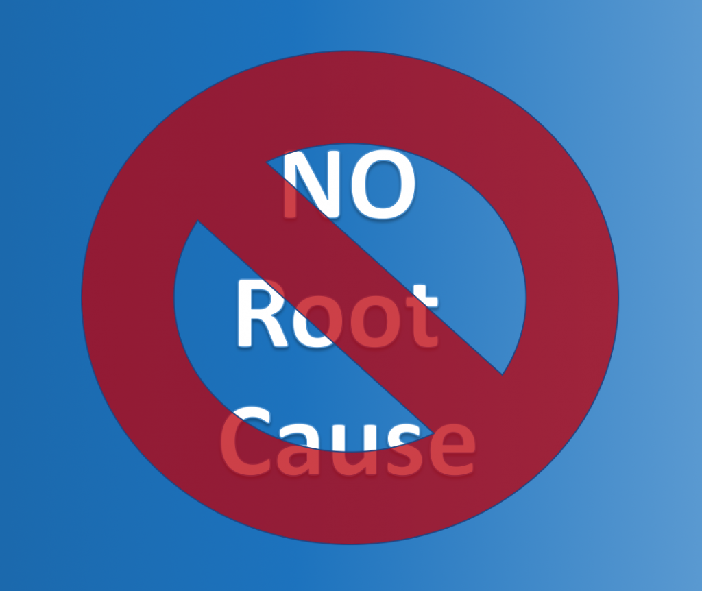 Human Error is not a Root Cause