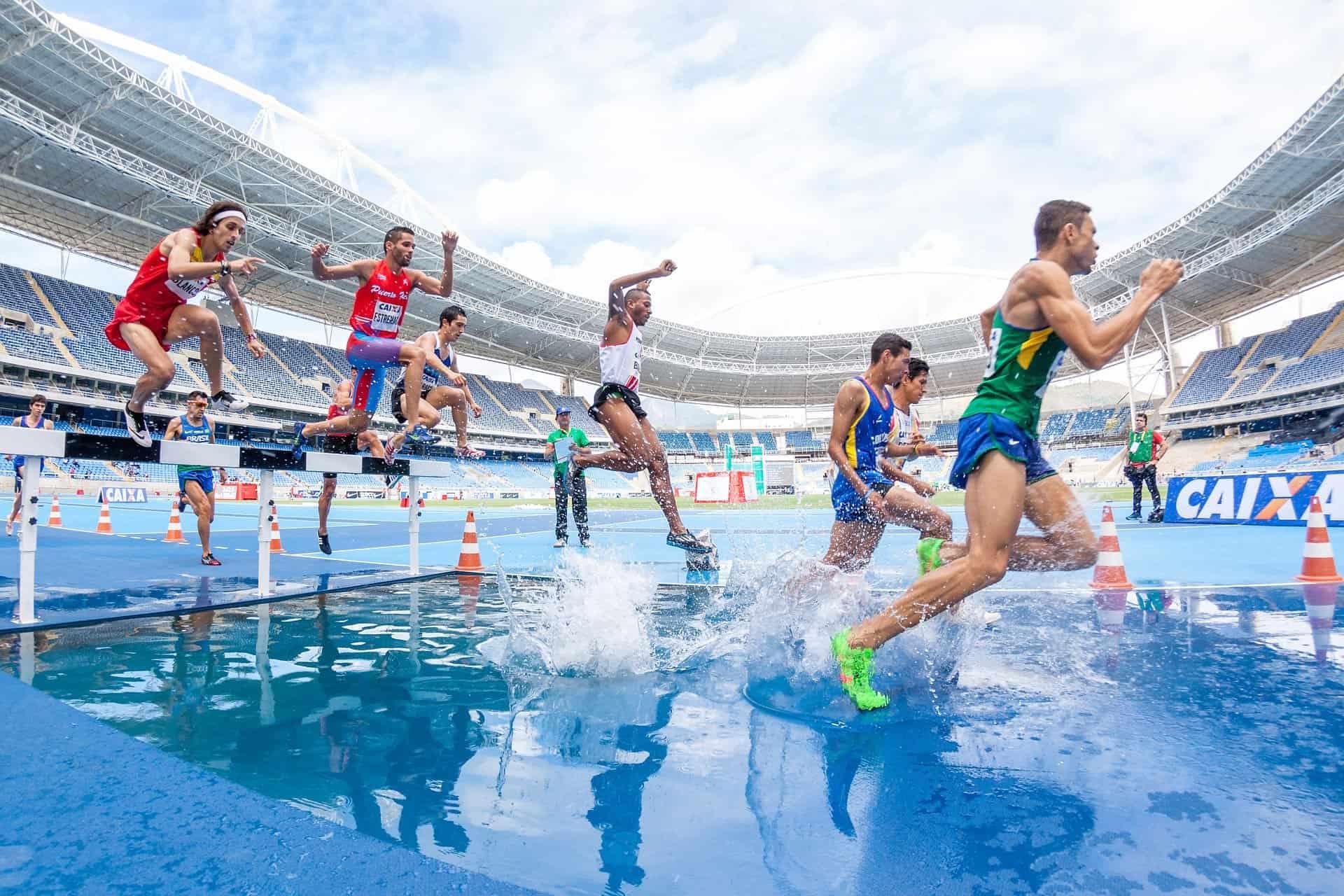 fast race water