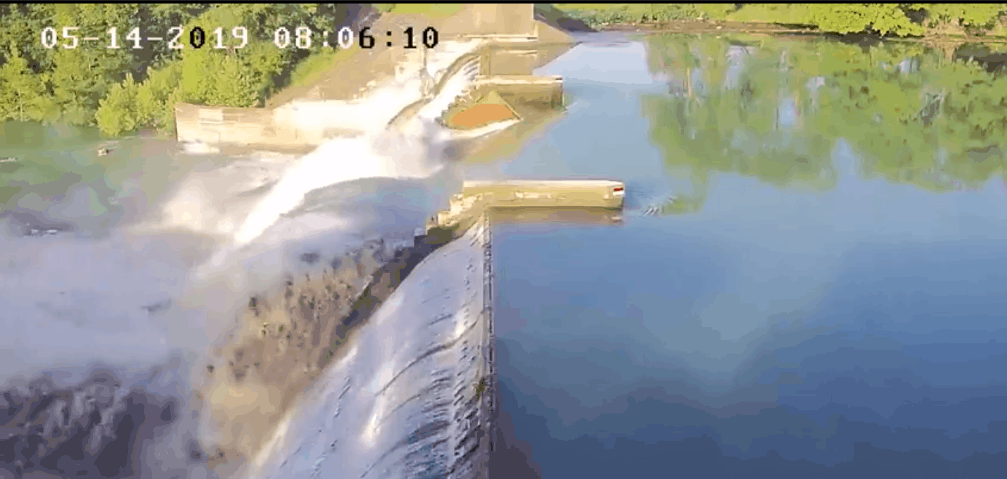 Lake Dunlap Dam Collapse