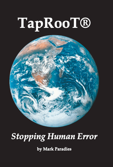 Stopping Human Error Book