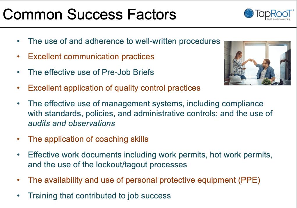 Common Success Factors
