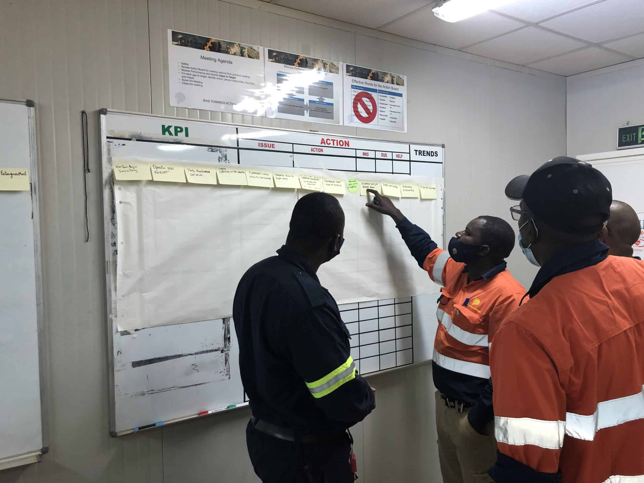 TapRooT® training in West Africa