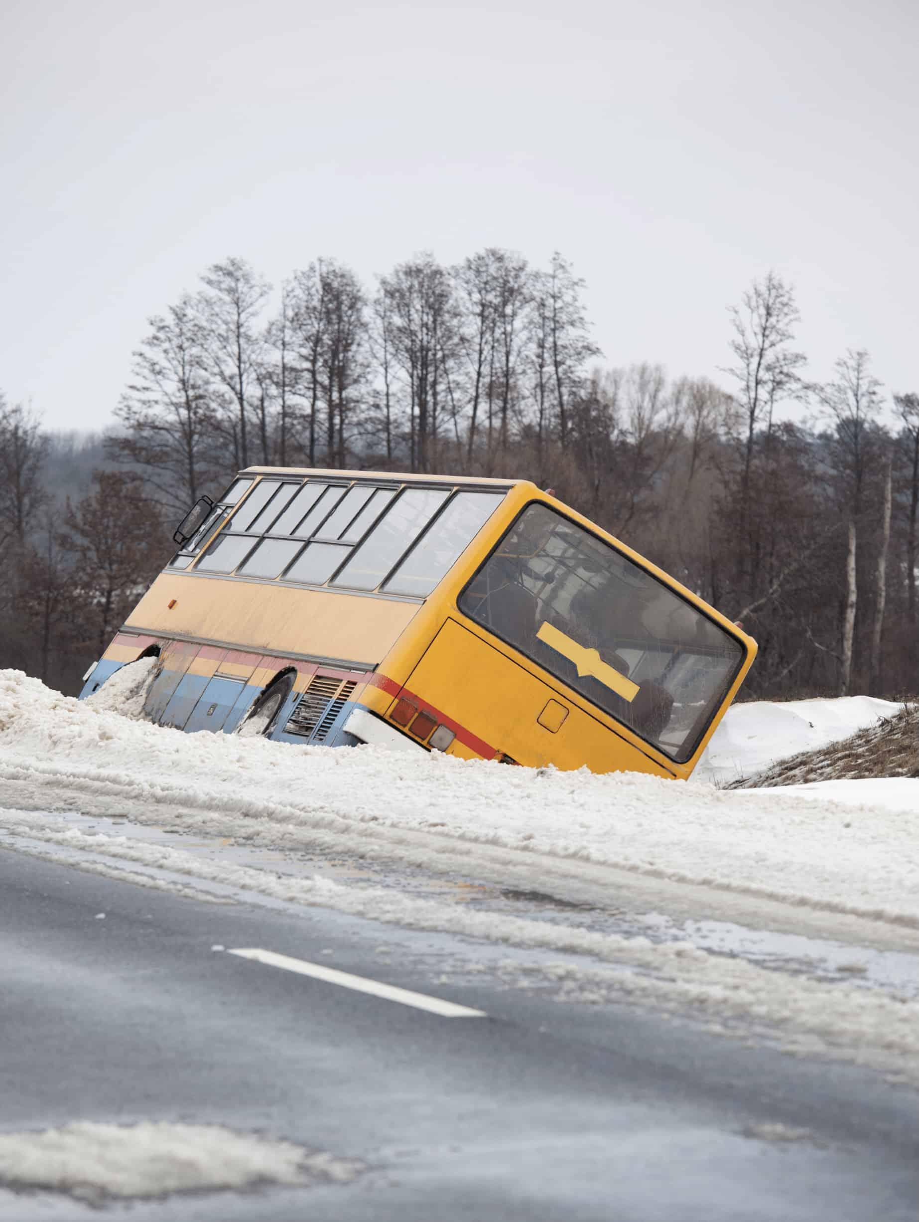 human error bus accident