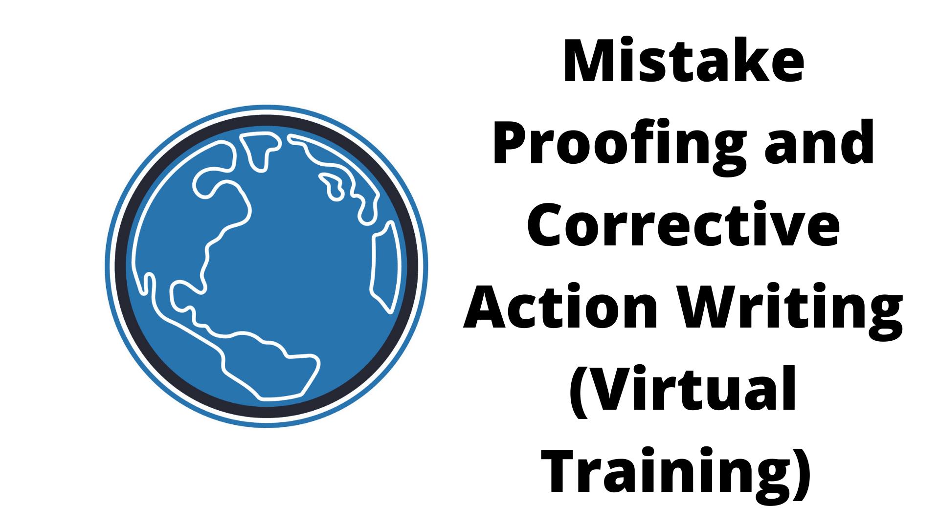 corrective action writing