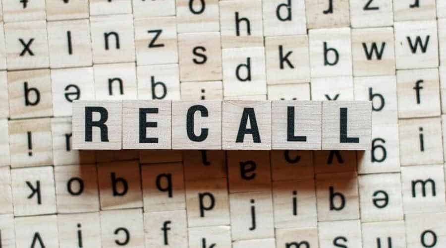 RECALL for food safety