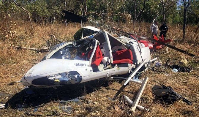 helicopter crash maintenance inspections