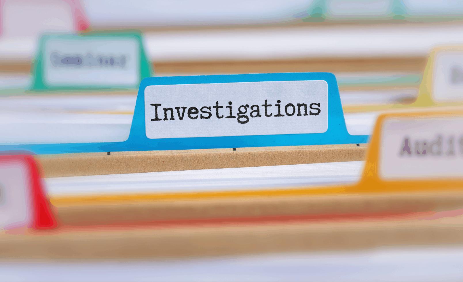 investigation file
