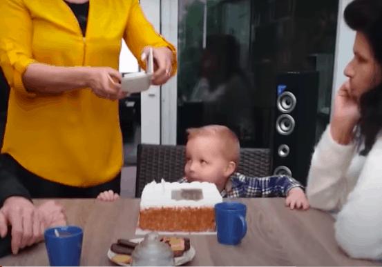 birthday cake child