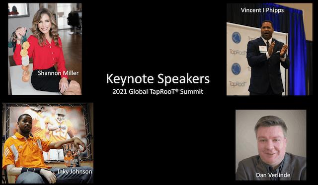 Keynote Speakers 2021 Global TapRooT® Summit