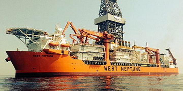 Neptune drillship